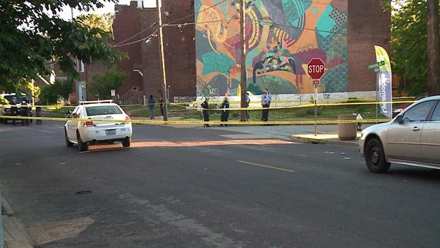 A 31-year-old woman was shot and killed at Virginia and Itaska Sunday evening (Credit: KMOV)