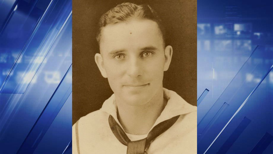"Robert ""Bobby"" Temple was a 19-year-old aboard the USS Oklahoma. (Credit: Temple Family)"