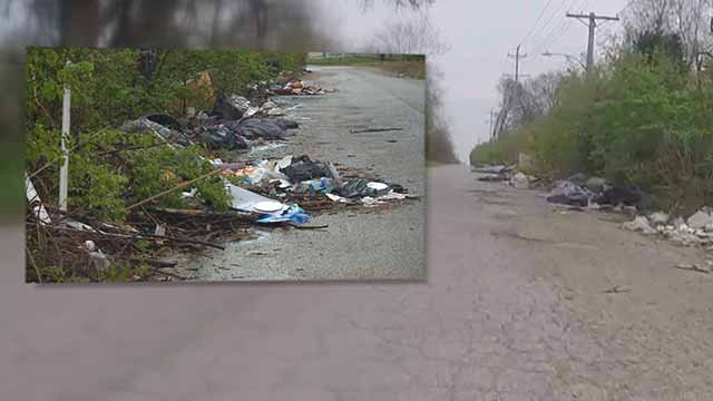 Many are concerned about trash along North Market Street near Lucas and Hunt. Credit: KMOV