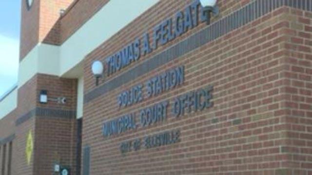 The Ellisville Police station (Credit: KMOV)