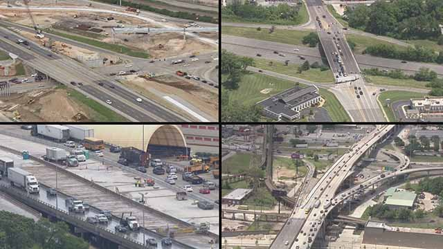 MoDOT said there will be more construction road projects than normal this summer. Credit: KMOV