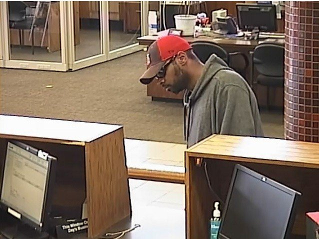 Ferguson Police are looking for a man who robbed a US Bank Monday. (Credit: Ferguson Police Department)