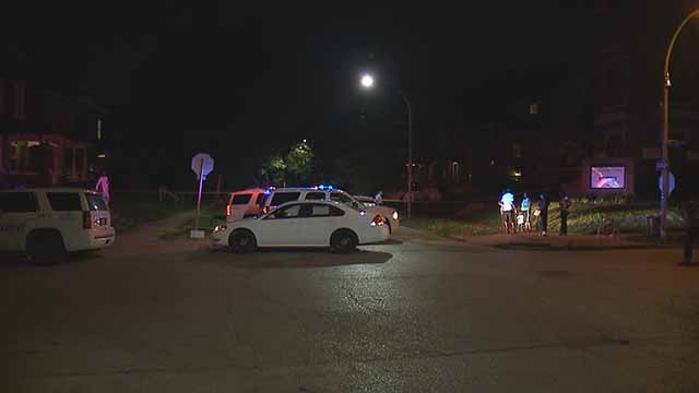 A victim was shot and killed in 4400 block of Red Bud in North City Thursday. Credit: KMOV