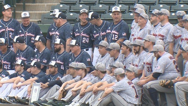 Group of baseball players in Sauget, Ill. have a plan to break a world record for longest marathon baseball game. (Credit: KMOV)