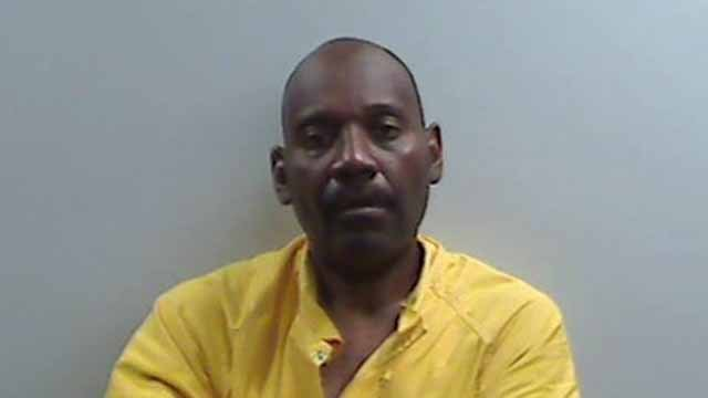 Christopher Parker, 50, is accused of  robbing a Family Dollar store in Belleville on May 27. Credit: Belleville PD.