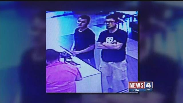 Police are looking for these two, who allegedly stole a teen's hoverboard outside a McDonald's in Wentzville. Credit: KMOV