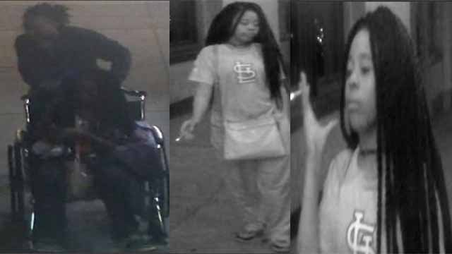 Police say this woman robbed a 70-year-old woman at restaurant in the Central West End. Credit: SLMPD