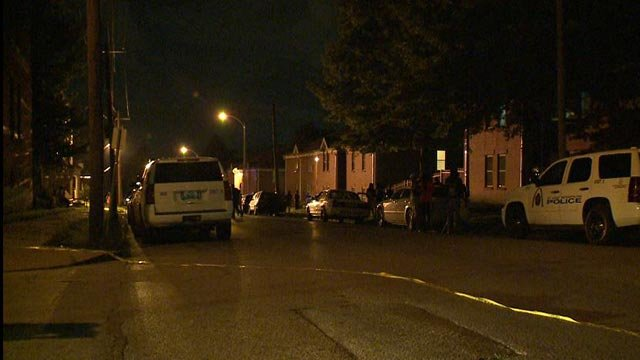 A 13-year-old was shot and killed in west St. Louis late Thursday night (Credit: KMOV)