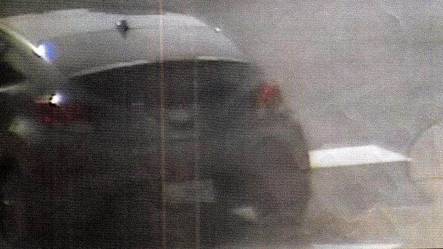 Suspect vehicle (Credit: Town & Country Police)
