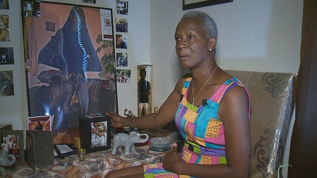 Phyllis Curry who lost her son to gun violence, speaks out. (Credit: KMOV)