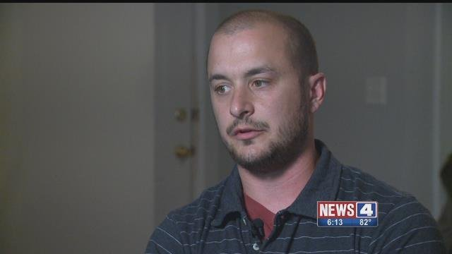 Randy Renner says mortgage company representatives broke into his home and stole items. Credit: KMOV