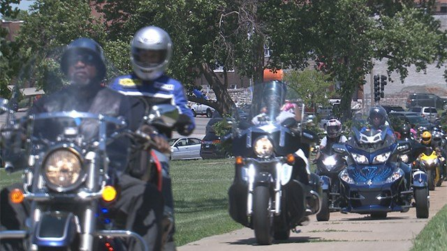 Better Family Life Peace Ride event. (Credit: KMOV)