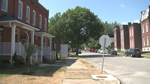 12-year-old boy in stable condition following south St. Louis shooting in the 3000 block of Texas. (Credit: KMOV)
