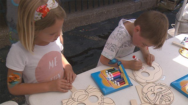 Annual cookout event held for children with cancer and their families on Sunday. (Credit: KMOV)