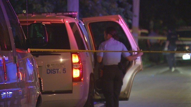 A double shooting occurred at Terry and Euclid in the Penrose neighborhood Sunday evening. (Credit: KMOV)