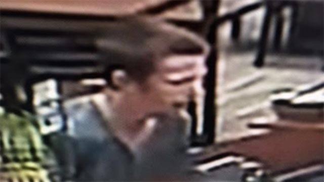 Creve Coeur Police released this surveillance photo of the Cold Stone Creamery robbery suspect (Credit: Police)
