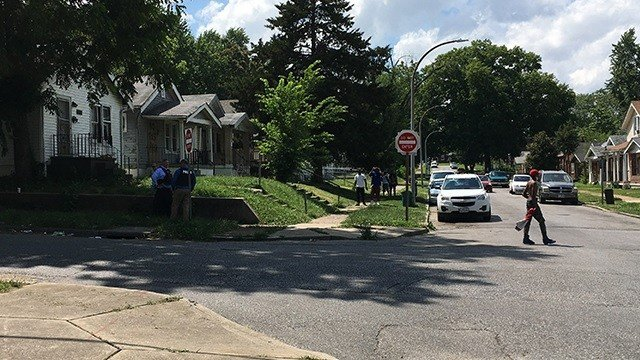 The shooting happened in the 6000 block of Shulte around 2:40 p.m, said officials. (KMOV)