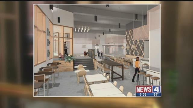 Concept drawing of a food hall that will soon becoming to St. Louis. Credit: KMOV