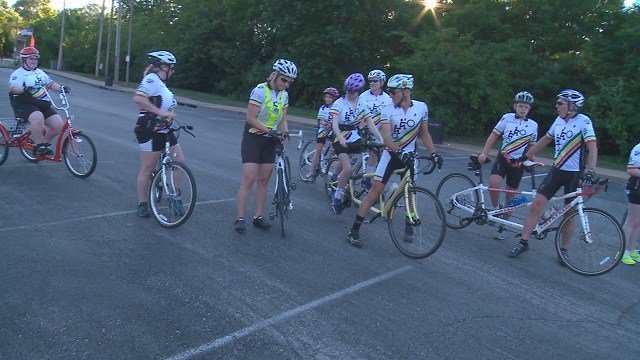 Delta Gamma Center is making riding a bike a better experience for children who are visually impaired. (Credit: KMOV)