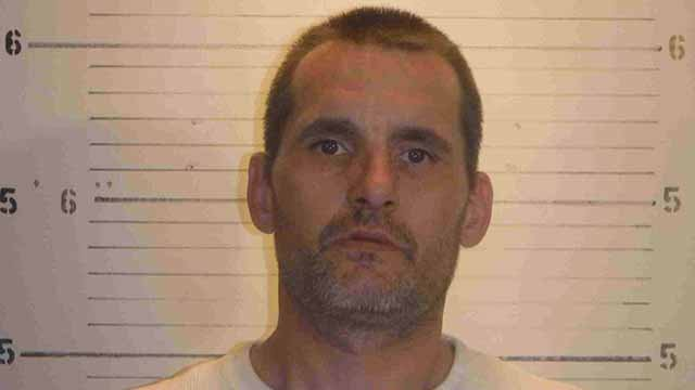 Claude Adams III, 40, of Dupo is charged with four counts of burglary. He was allegedly involved in thefts of equipment and trucks from Munie Green Care in the Metro East. Credit: St. Clair County Sheriff