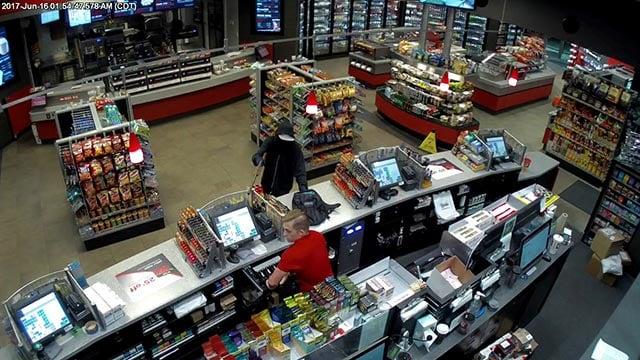 Surveillance photo from Ellisville QuikTrip (Credit: Police)