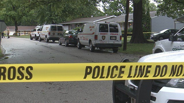 St. Louis County Police are investigating a fatal shooting that happened in the 1900 block of Prior on Sunday morning. (Credit: KMOV)