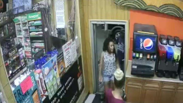 Homicide detectives are asking for the public's help with identifying two women that are believed to be involved in a shooting that left a 30-year-old man dead. (Credit: St. Louis Metropolitan Police Department)