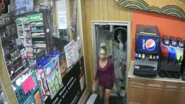 Homicide detectives are asking for the public's help with identifying two women that are believed to be involved in the shooting death of 30-year-old Donald McNutt. (Credit: St. Louis Metropolitan Police Department)