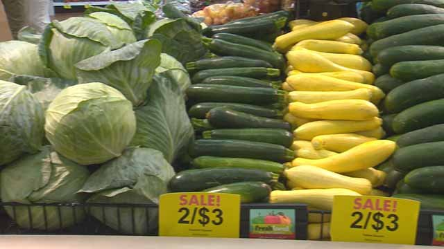 Fresh produce at Schnucks. Credit: KMOV
