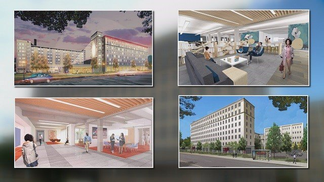 One group is working to turn the old St. Luke's hospital in the Central West End into a home for nonprofits. (Credit: KMOV)