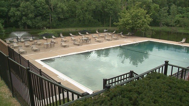 Tonya Stewart says her 16-year-old son Jayden and his friends were hanging out by the pool when a group of people drinking starting harassing them. (Credit: KMOV)