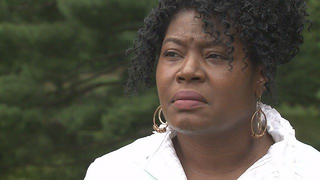She says one of the men went to his car and when he came back he had a gun. (Credit: KMOV)