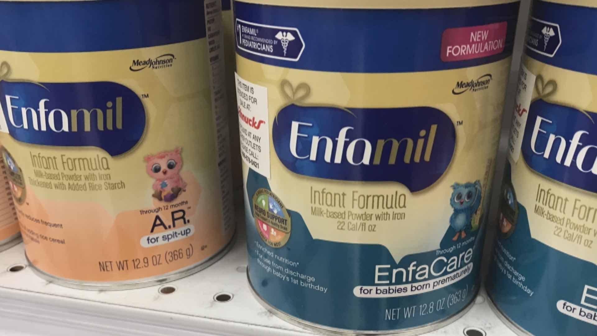 Baby formula. Credit: KMOV