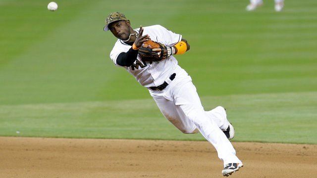 The Cardinals have reportedly inquired about Marlins shortstop Adeiny Hechavarria (AP Photo).