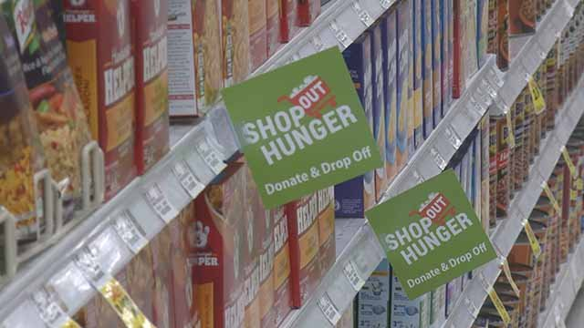 Shop Out Hunger. Credit: KMOV