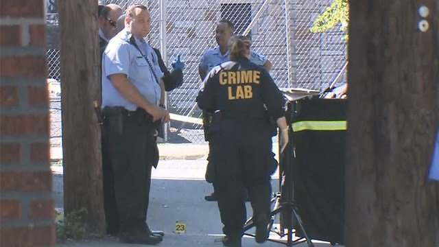 Police are investigating a shooting that occurred in the 5000 block of Thekla Avenue Sunday afternoon. (Credit: KMOV)