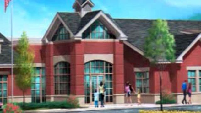Rendering of St. Charles School District's new early childhood center (Credit: St. Charles School District)