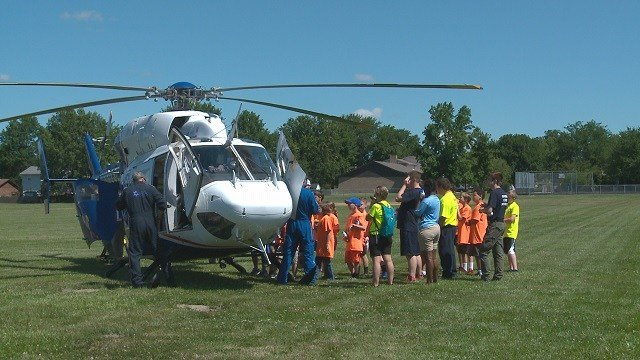 Each year boys and girls from all over Swansea, Illinois gather for an annual first responders academy. (Credit: KMOV)