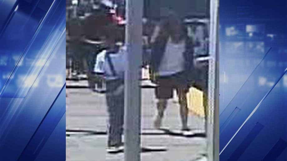Police believe these two suspect robbed and assaulted a teen  on a MetroLink train near on north Hanley Sunday. Credit: STL Co. PD