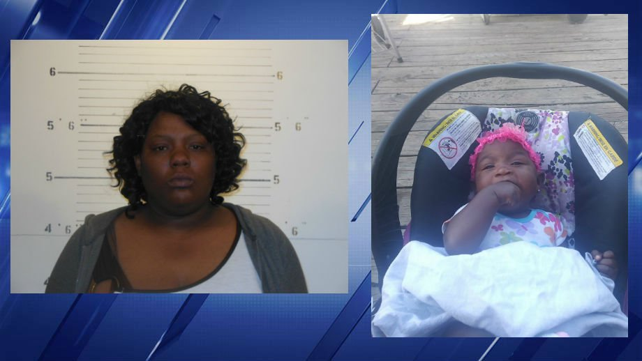 Police are on the lookout for 35-year-old Kimberly A. Jenkins after an autopsy released Tuesday revealed her daughter, six-month-old Mariah McCorkle, suffocated. (Credit: KMOV)