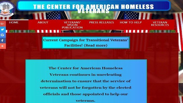 The St. Louis Better Business Bureau is advising consumers to use caution when deciding whether to contribute money to the Center for American Homeless Veterans. (Credit: The Center for American Homeless Veterans)