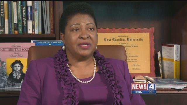 Hazelwood Superintendent Dr.  Nettie Collins-Hart. Credit: KMOV