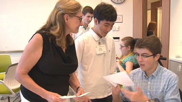 A new program aimed at helping disabled students is a first of its kind in St. Louis. (Credit: KMOV)