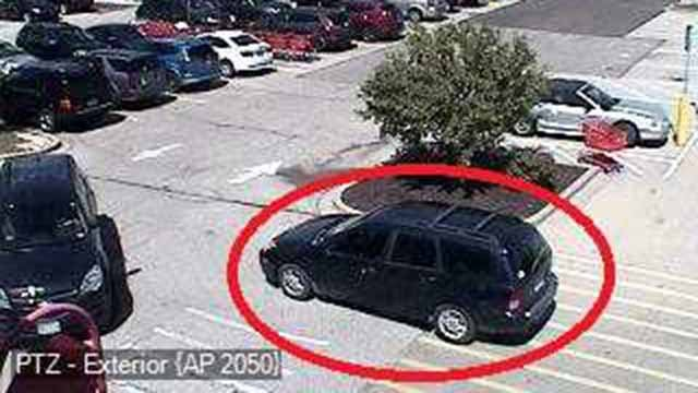 Police say a man who exposed his genitals in the parking lot of a Target in Wentzville was driving this car. Credit: Wentzville PD