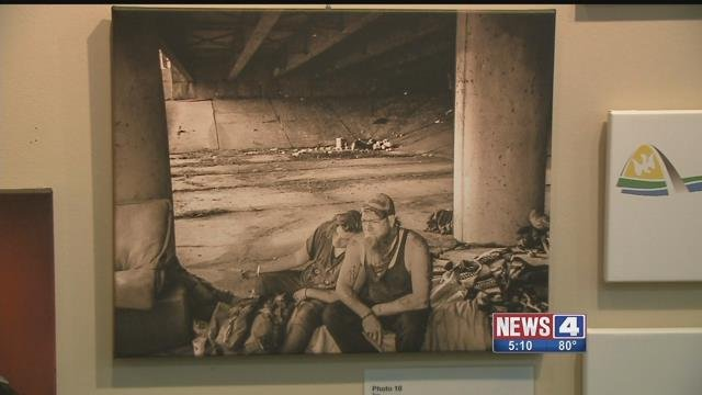 A new exhibit in St. Peters seeks to expose the problem of homelessness in St. Charles Co. Credit: KMOV