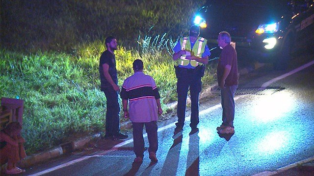 A man was killed in a shooting on northbound Interstate 55 near Arsenal Saturday evening. (Credit: KMOV)