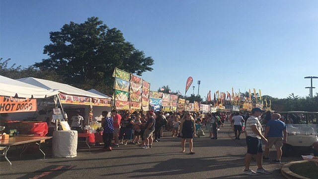 Crowds packed Forest Park for the first day of Fair St. Louis. (Credit: KMOV)