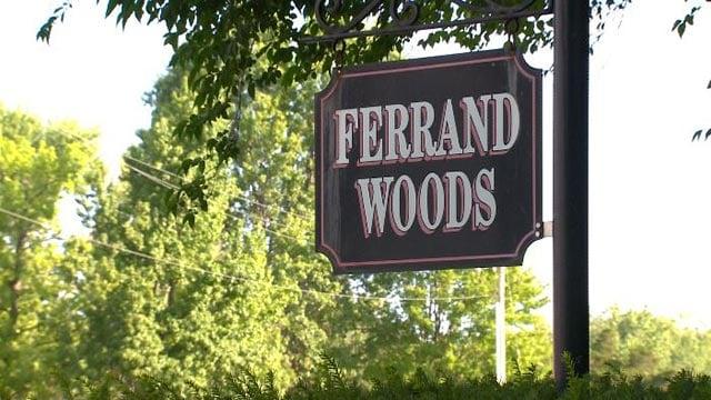 Ferrand Woods sign (Credit: KMOV)