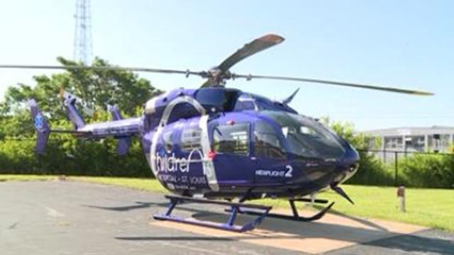 New Children's Hospital helicopter (Credit: KMOV)