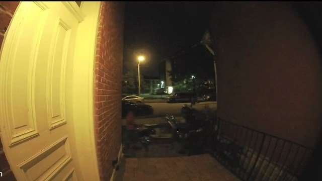 Two scooters, worth about $2,500 each were taken even though they were locked up. (Credit: St. Louis Police Department)